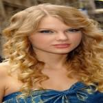 Taylor Swift Curly Long Hair Styles