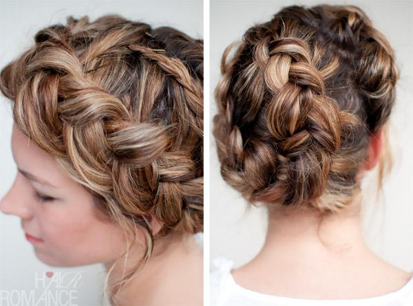 This Braided Hairstyle Twist Valentino Braids Seen