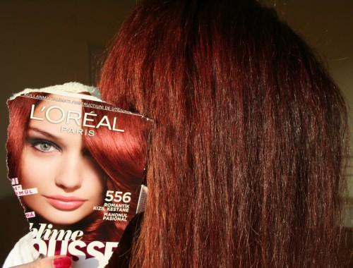 Time Red Range From Casting Creme Gloss But Only Sample Hair