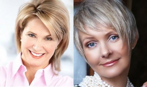 Trendy Haircuts Short Hairstyles For Mature Women