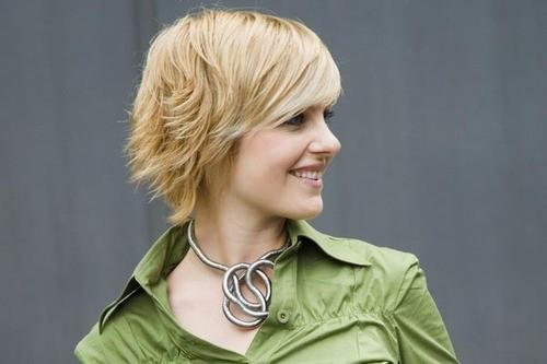 Trendy Layered Short Hairstyles For Fall Side View Tumblr
