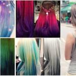 Turquoise Ombre Hair Brown Are Colors