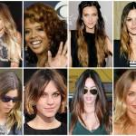 Two Tone Brown Hair Caramel Highlights Toned Color Ideas