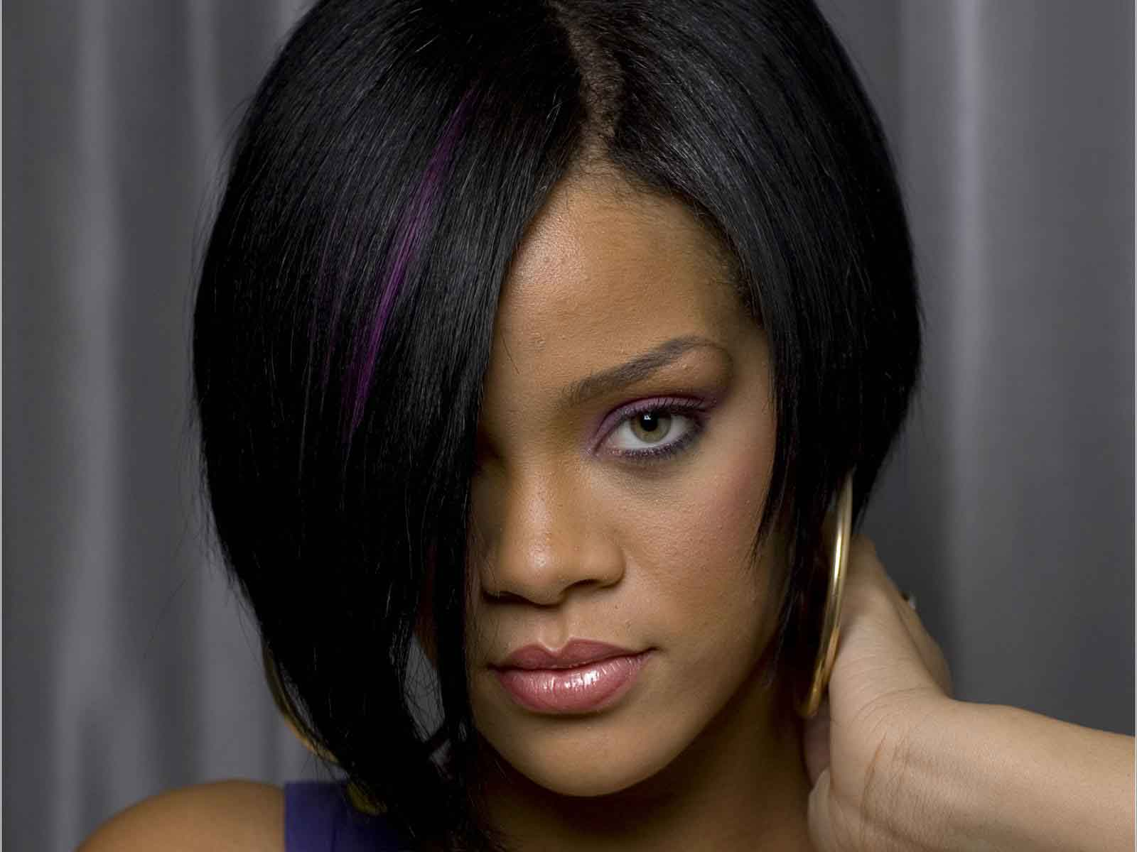 Types Hairstyles For Girls Rihanna Bob Hairstyle