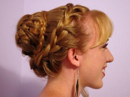 Updo Hairstyles For Long Hair Best Casual Bun Hairstyle