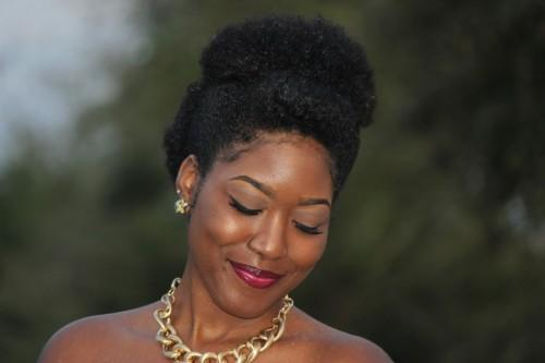 Updo Hairstyles For Short Natural Hair