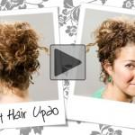 Video Curly Hair Tutorial For Natural