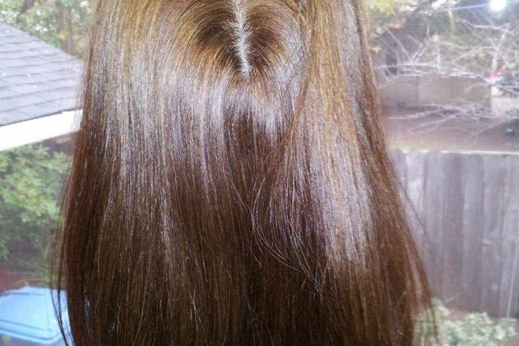 Warm Brown Hair Color Piece