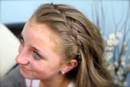 Waterfall Braid Headb Combo Braided Hairstyles