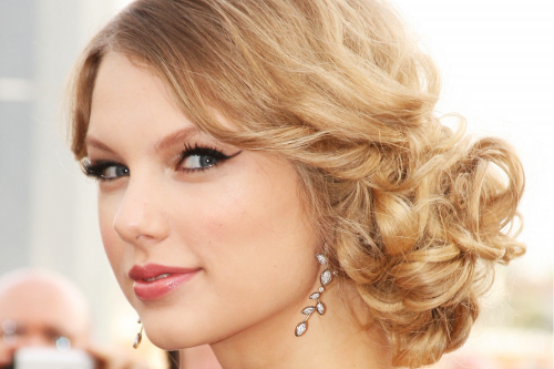 Wavy Bridal Updos Wedding Hairstyles Taylor Swift Onewed