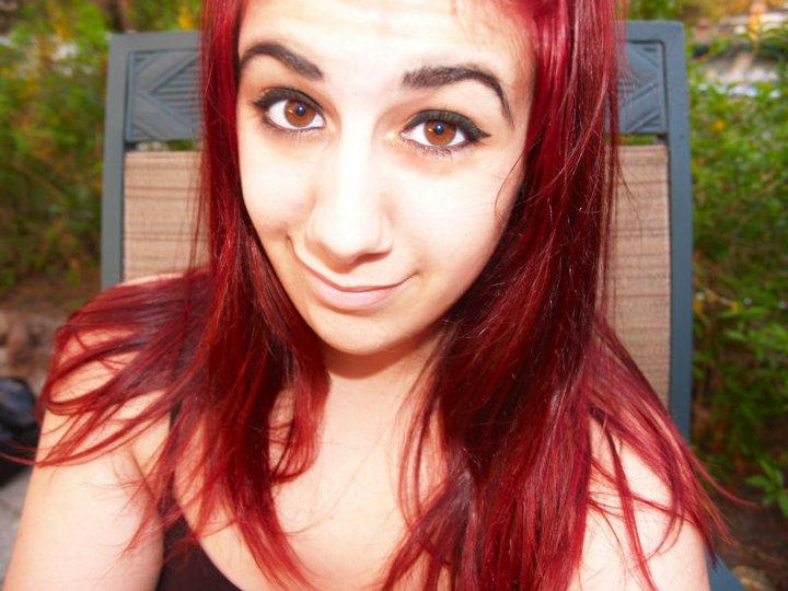 Wear Care Bright Red Hair