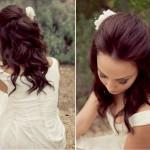 Wedding Hair Styles Half Down