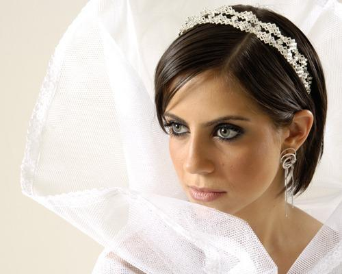 Wedding Hairstyle For Short Hair