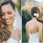 Wedding Hairstyles Glamourous Side Swept Waves