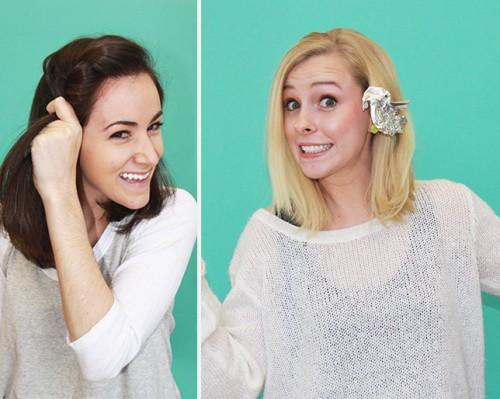 What Happens When Different Women Try Same Easy Hairstyles