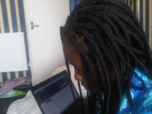 Yarn Braids Natural Hair