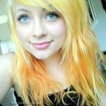Yellow Orange Hair Color