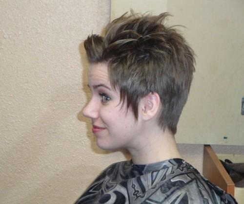 You Can Have Short Spiky Haircut Good Change From